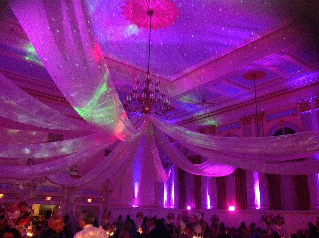 wedding lighting brought to you by mc entertainment